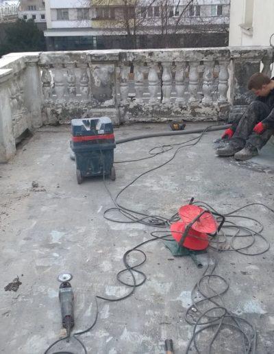 naprawa balkony zabytkowego