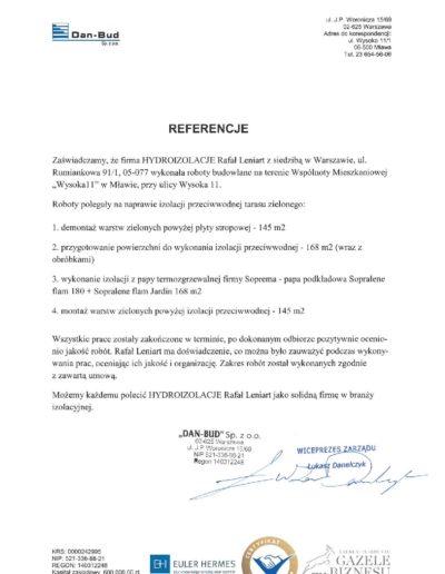 Referencje DAN-BUD Sp. z o.o.-page-001