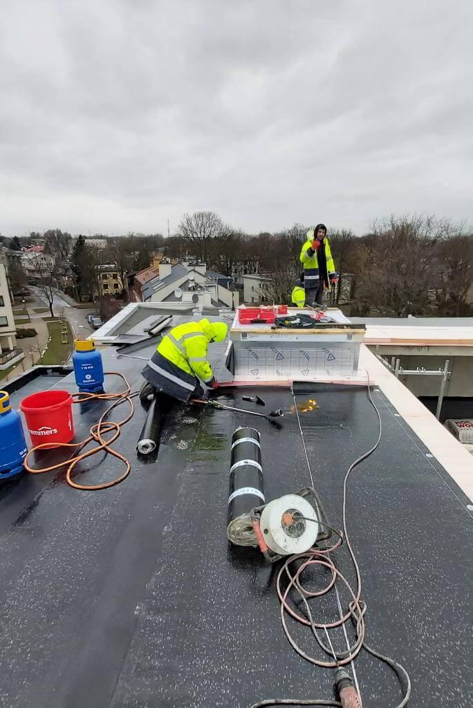 termoizolacja dachu płaskiego